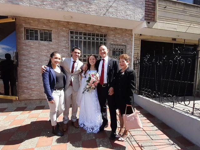 El matrimonio de Tatiana  y Jhon en Bogotá, Bogotá DC 9