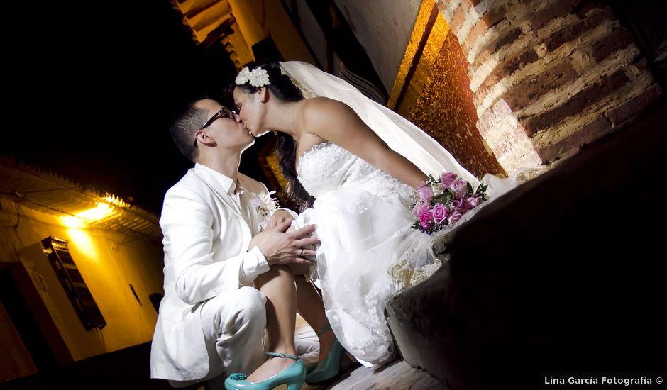 El matrimonio de Alejandro y Patricia en Santafé de Antioquia, Antioquia