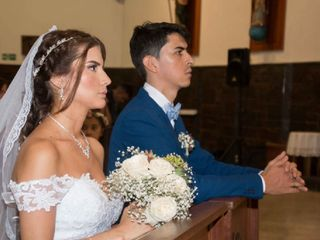El matrimonio de Daniela y William