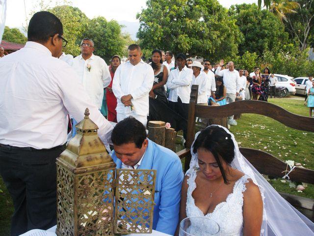 El matrimonio de Eder y Jenifer  en Santa Marta, Magdalena 1