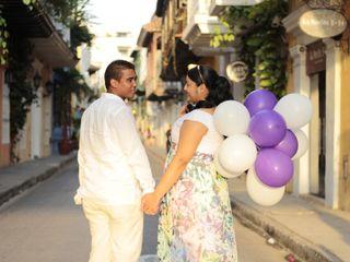 El matrimonio de Kathery y Ruben
