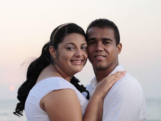 El matrimonio de Ruben y Kathery en Cartagena, Bolívar 8