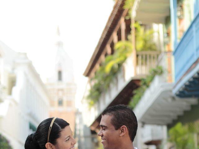 El matrimonio de Ruben y Kathery en Cartagena, Bolívar 9