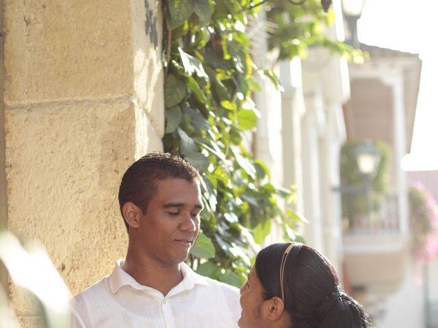 El matrimonio de Ruben y Kathery en Cartagena, Bolívar 14