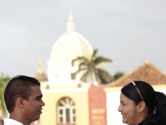 El matrimonio de Ruben y Kathery en Cartagena, Bolívar 16