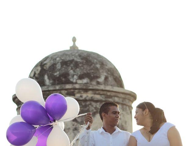 El matrimonio de Ruben y Kathery en Cartagena, Bolívar 21