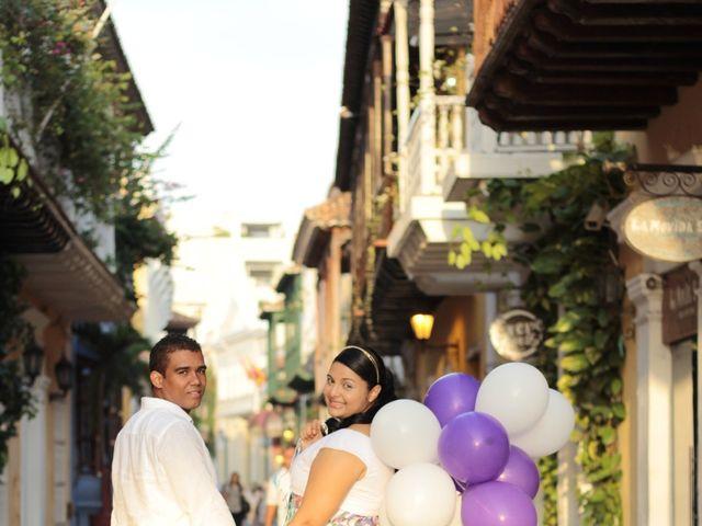 El matrimonio de Ruben y Kathery en Cartagena, Bolívar 26