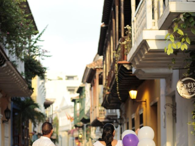 El matrimonio de Ruben y Kathery en Cartagena, Bolívar 27
