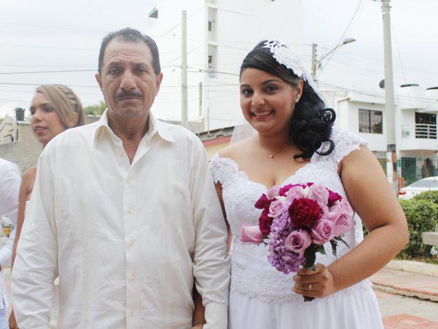 El matrimonio de Ruben y Kathery en Cartagena, Bolívar 49