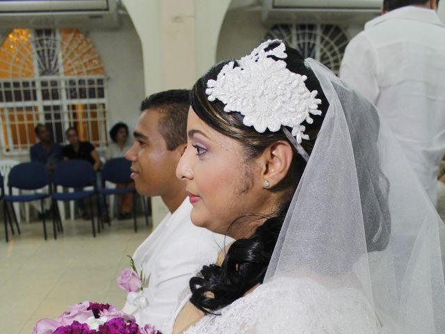 El matrimonio de Ruben y Kathery en Cartagena, Bolívar 59