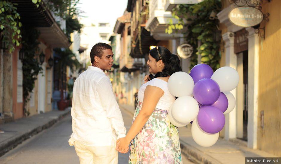 El matrimonio de Ruben y Kathery en Cartagena, Bolívar