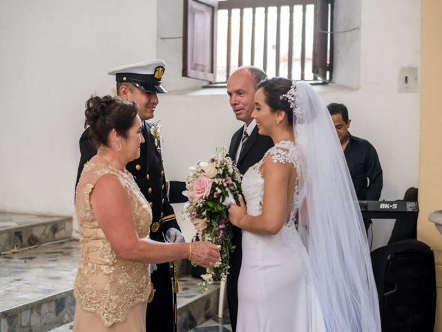 El matrimonio de Jovanny y Verónica en Cartagena, Bolívar 34