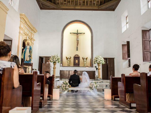 El matrimonio de Jovanny y Verónica en Cartagena, Bolívar 36