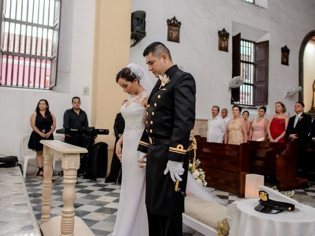 El matrimonio de Jovanny y Verónica en Cartagena, Bolívar 50