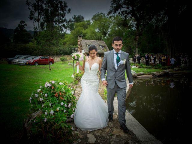 El matrimonio de Camilo y Diana en Zipaquirá, Cundinamarca 7