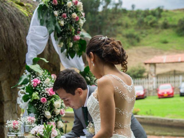 El matrimonio de Camilo y Diana en Zipaquirá, Cundinamarca 16