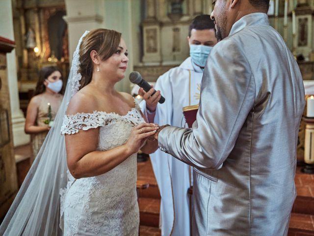 El matrimonio de Carlos y Marcela en Santafé de Antioquia, Antioquia 16