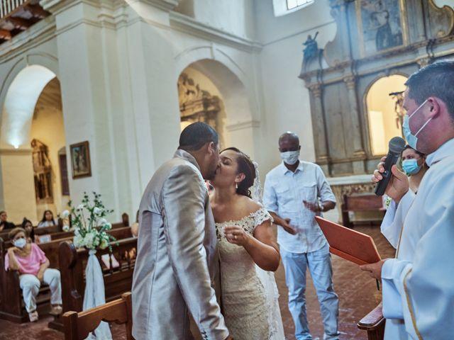 El matrimonio de Carlos y Marcela en Santafé de Antioquia, Antioquia 17