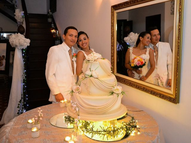 El matrimonio de Karen Ojeda y Jorge Lara