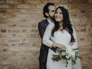 El matrimonio de Elia y David