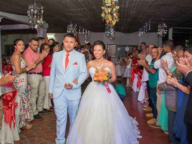El matrimonio de Neira y Esneider