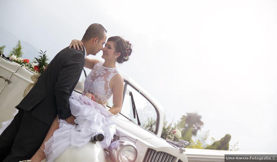 El matrimonio de Luis Miguel y Carlolina en La Estrella, Antioquia