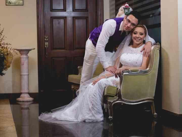 El matrimonio de Tatiana y José
