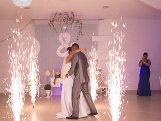 El matrimonio de Zunamith y Oscar