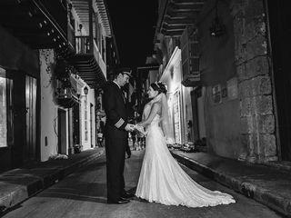 El matrimonio de Heyleen y Tavis