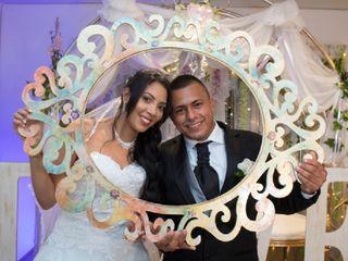 El matrimonio de Anyi y Sergio