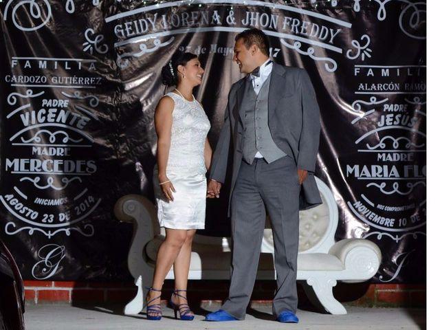El matrimonio de Jhon y Geidy en San Agustín, Huila 1