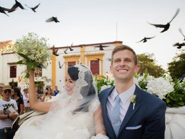 El matrimonio de Ryan y Wendy en Cartagena, Bolívar 37