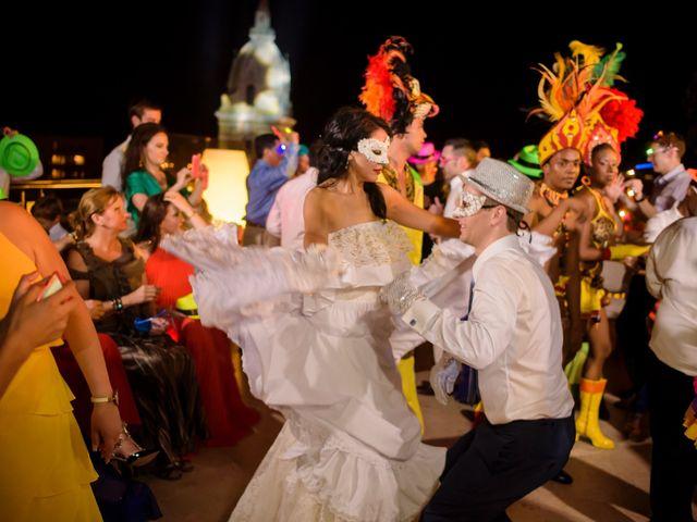 El matrimonio de Ryan y Wendy en Cartagena, Bolívar 55