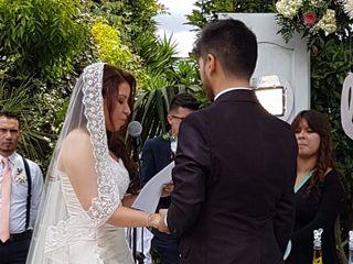 El matrimonio de Luz y Óscar 2