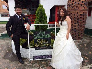 El matrimonio de Luz y Óscar