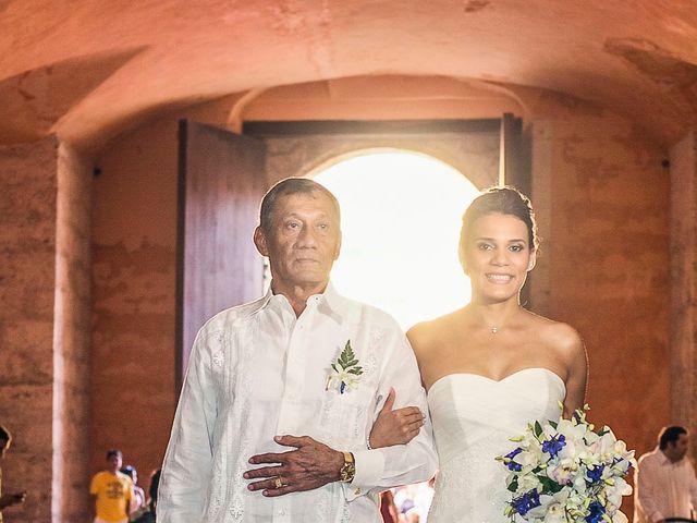 El matrimonio de Juan y Tania en Cartagena, Bolívar 10