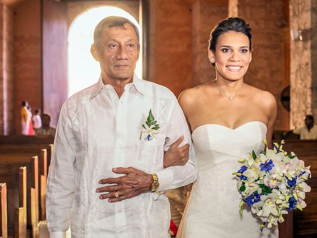 El matrimonio de Juan y Tania en Cartagena, Bolívar 11