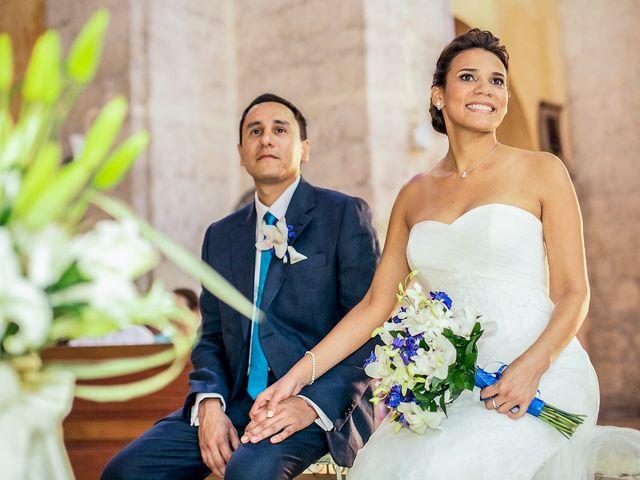 El matrimonio de Juan y Tania en Cartagena, Bolívar 15