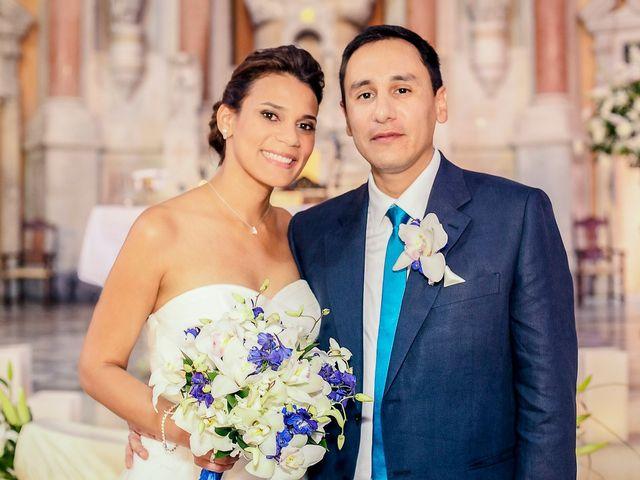 El matrimonio de Tania y Juan