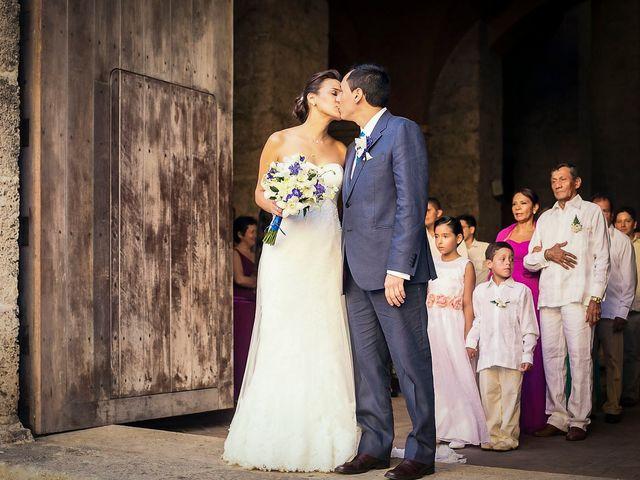 El matrimonio de Juan y Tania en Cartagena, Bolívar 23