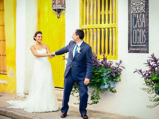 El matrimonio de Juan y Tania en Cartagena, Bolívar 28