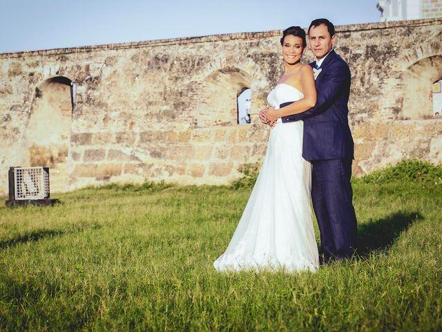 El matrimonio de Juan y Tania en Cartagena, Bolívar 31