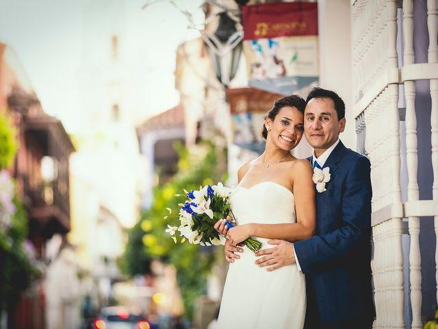 El matrimonio de Juan y Tania en Cartagena, Bolívar 33