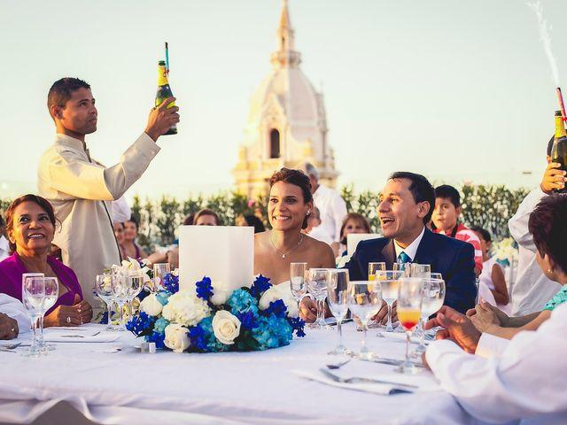 El matrimonio de Juan y Tania en Cartagena, Bolívar 35
