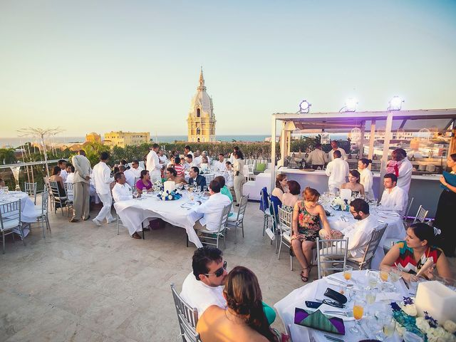 El matrimonio de Juan y Tania en Cartagena, Bolívar 36