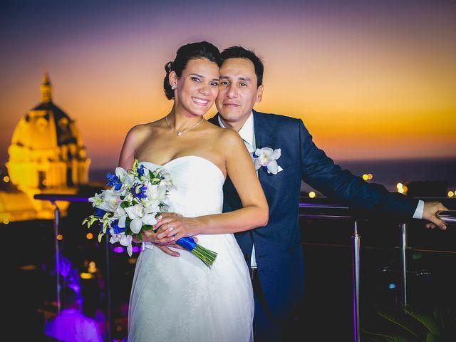 El matrimonio de Juan y Tania en Cartagena, Bolívar 39