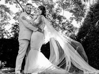 El matrimonio de Stephany y David