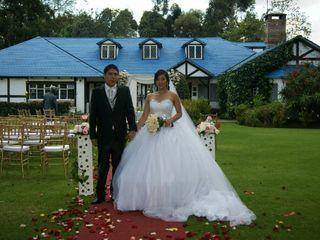El matrimonio de Geraldine   y Diego