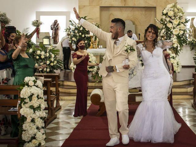 El matrimonio de David y Stephany en Cali, Valle del Cauca 32