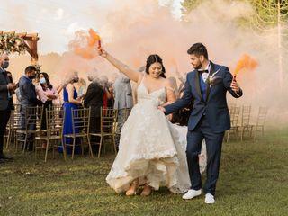 El matrimonio de Vanessa y Jhon